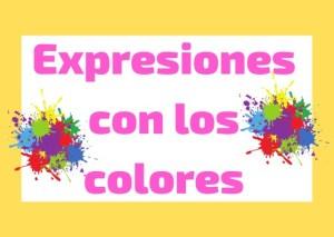 Expresiones con los colores italiano