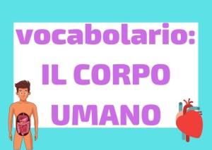 Vocabolario Corpo Umano