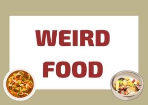 Italian weird foods