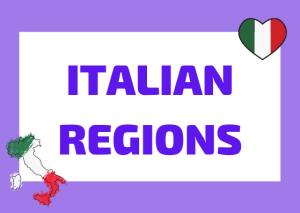 Italian regions and capitals