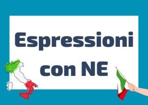 espressioni particella ne italiano