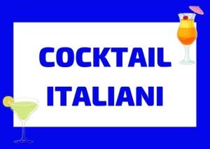 cocktail italiani