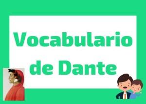 Vocabulario de Dante