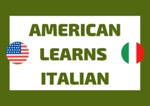 American learns Italian