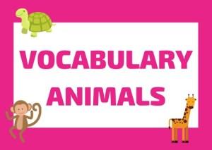 Italian vocabulary animals