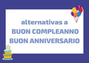 alternativas a buon compleanno