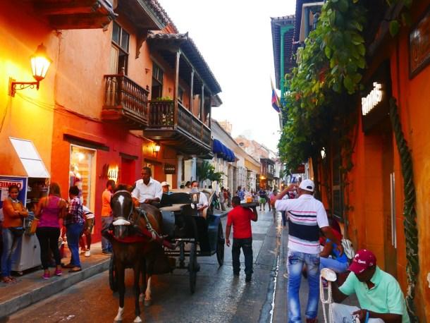 COLOMBIE l Cartagena… Une ville «presque» comme à Cuba.
