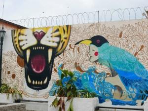 Graffiti au coeur de P.C.