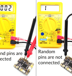 i also find it helpful in finding alternate solder pads if one is pulled from the board continuity is measured in parallel with no power connected to the  [ 1184 x 950 Pixel ]