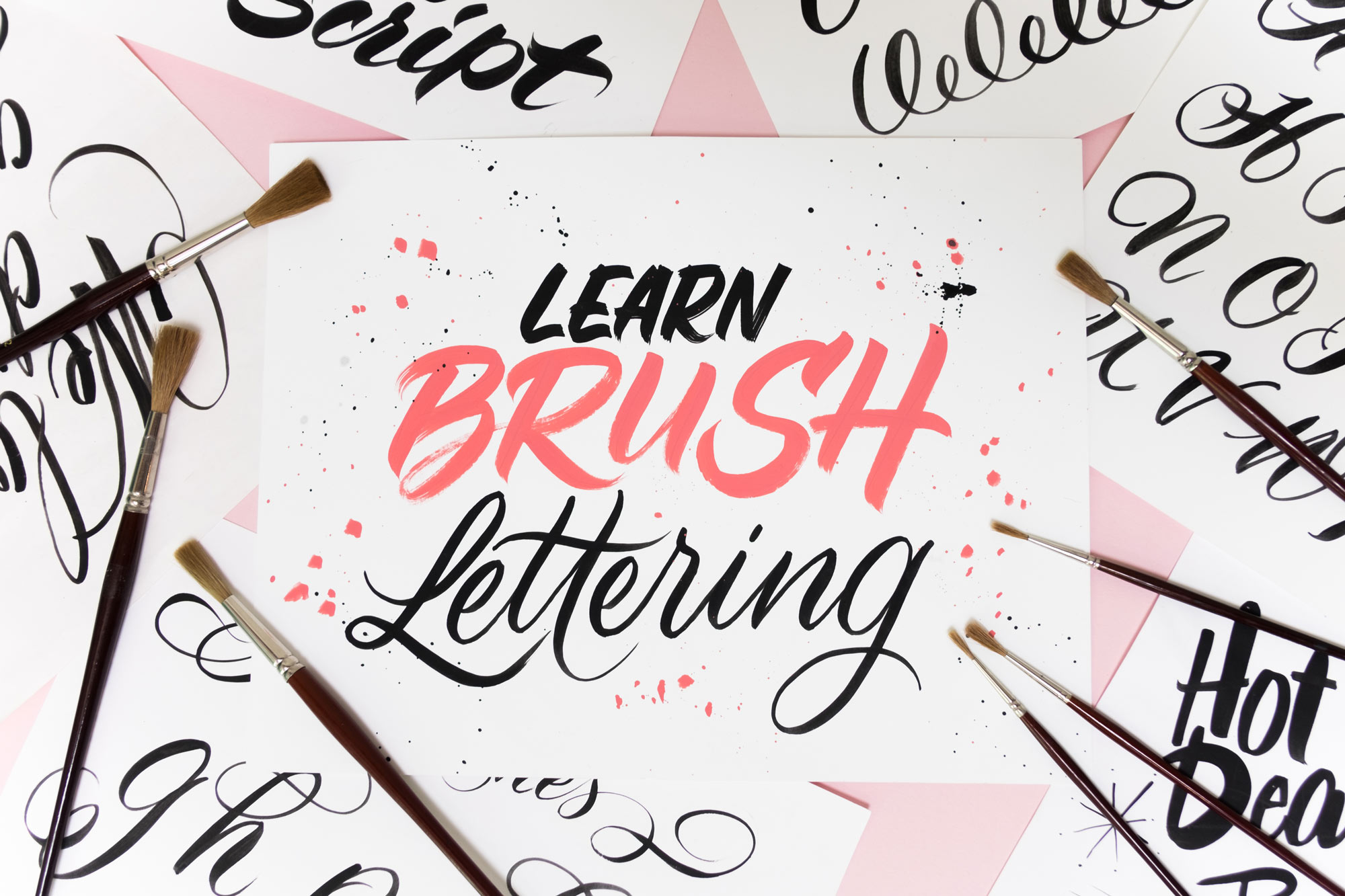 Learn Brush Lettering Online Course