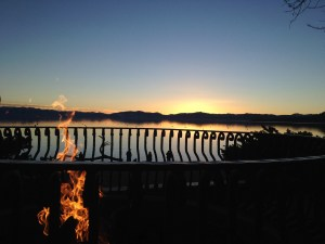 Firepit Sunset View