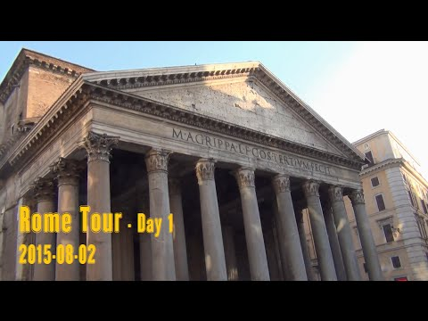 Rome Tour –  Villa Borghese, Spanish Steps, Trevi Fountain, Pantheon, Piazza Navona