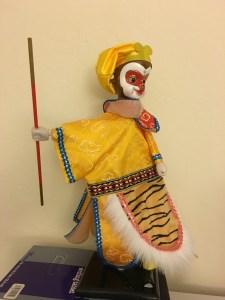 My favorite Monkey King Puppet on my desk