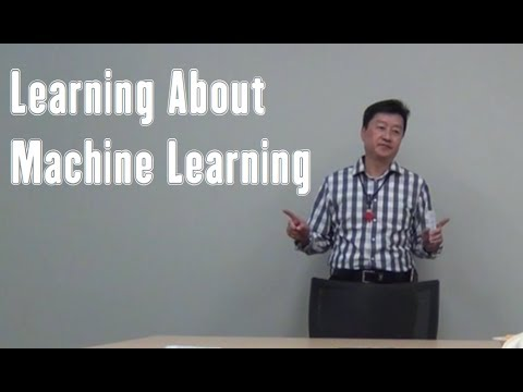 Learning About Machine Learning – a Toastmaster Speech