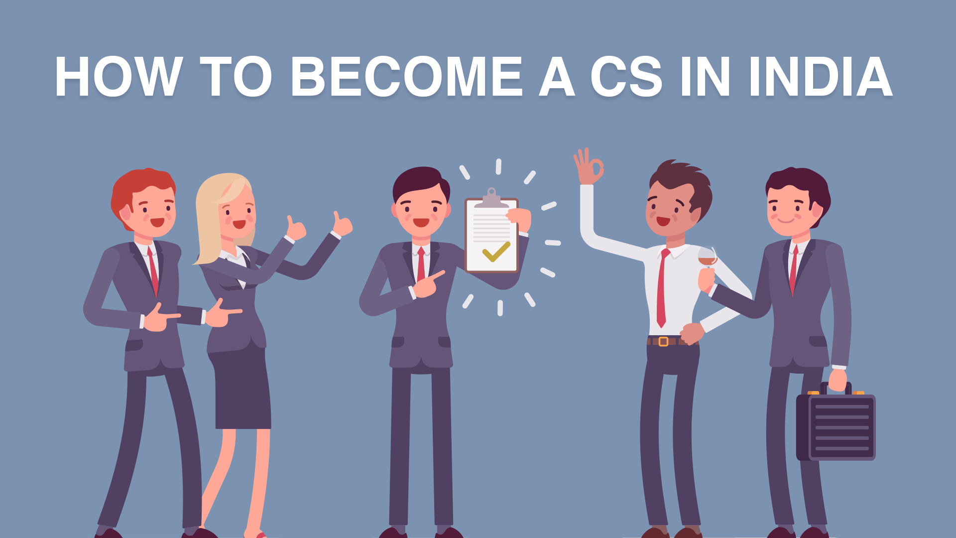 How to become a CS in India