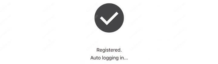 Đã đăng ký cấu hình ứng dụng