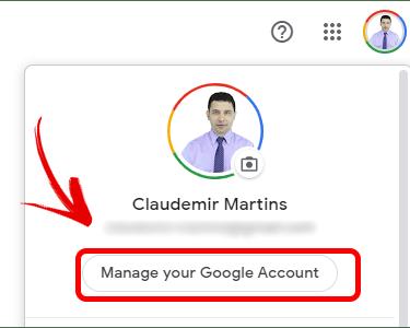 Google Quản lý tài khoản
