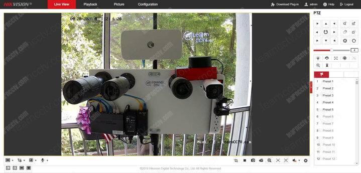 Đăng nhập camera Hikvision OK