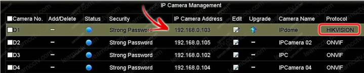 IP camera Hikviison IP và giao thức