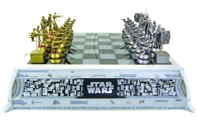 star wars chess set, star wars limited edition products, exclusive star wars products, chessboards, star wars chess