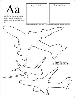 Preschool: Letter Printables