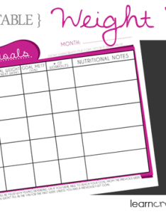 Free printable weight chart also learncreatelove rh