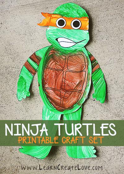 Montable de Las Tortugas Ninja