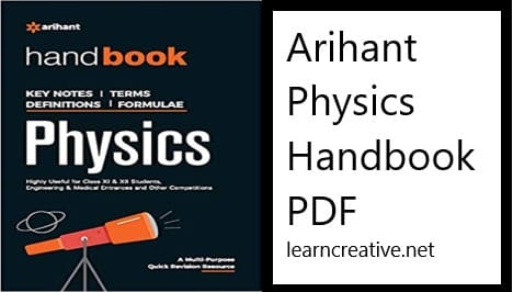 Arihant Handbook of Physics PDF free download
