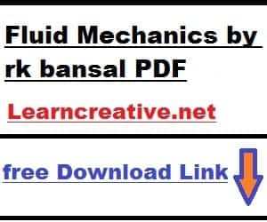 [PDF] A Textbook Of Fluid Mechanics by rk bansal pdf ( Free Download)