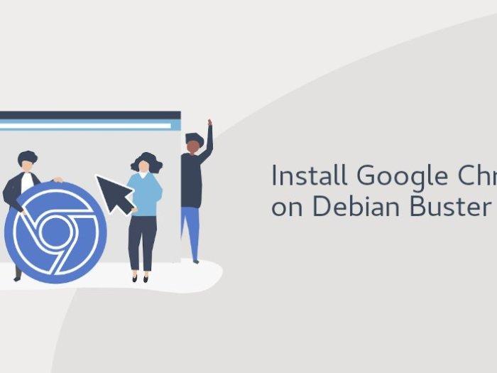 install google chrome on debian buster