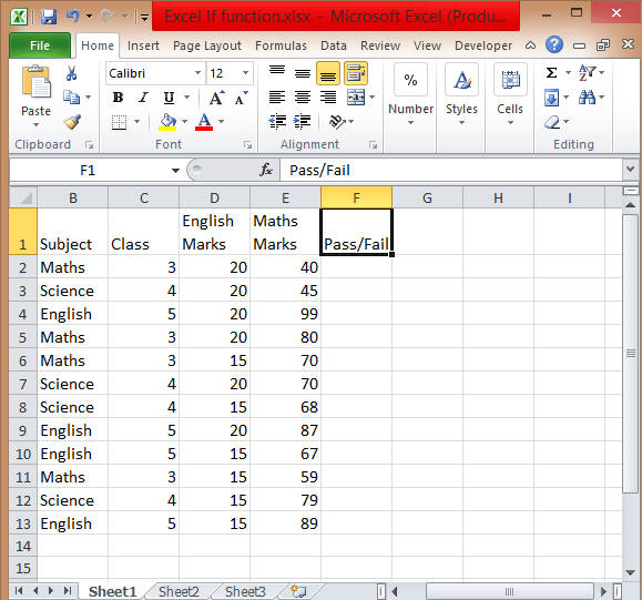 excel if conditions