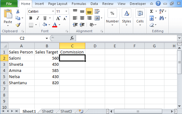 Excel-logical-test