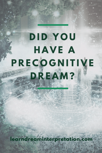 Precognitive Dream