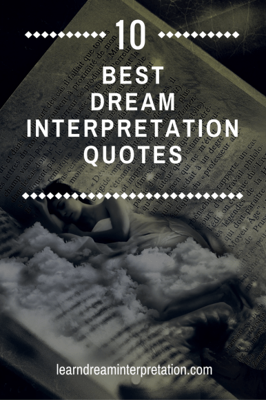 Best Dream Interpretation Quotes
