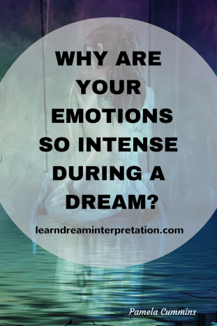 Intense emotions in dream