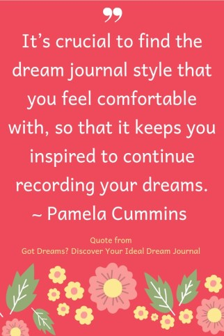 Got Dreams Pamela Cummins author