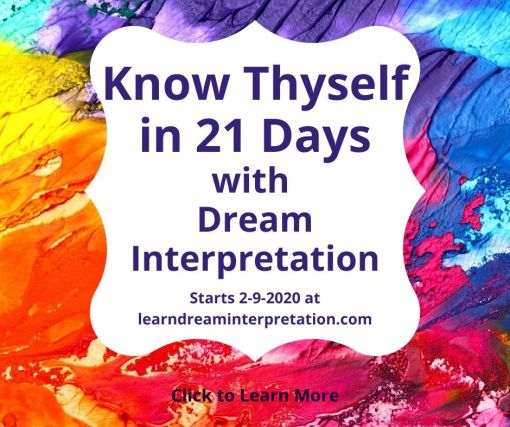 Dream Interpretation Challenge to Know Thyself