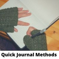 Quick Journal Methods