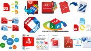 How to convert PDF files