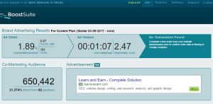 Free ads website, BoostSuite is a simple tool for online advertising