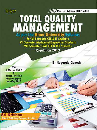 PDF] GE6757 Total Quality Management Lecture Notes, Books