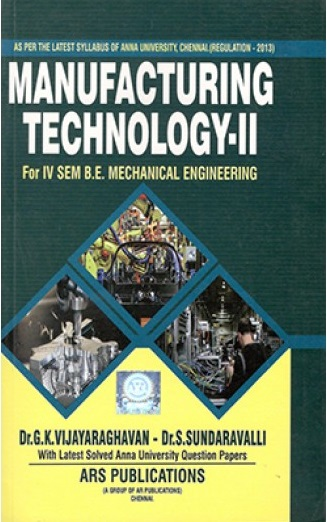 Manufacturing Technology Notes Pdf