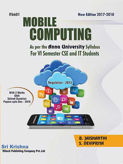 PDF] IT6601 Mobile Computing Lecture Notes, Books, Important