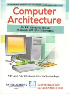 PDF] CS8491 Computer Architecture Lecture Notes, Books