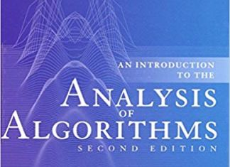 Analysis of Algorithms By Robert Sedgewick, Philippe Flajolet