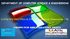 [PDF] GATE Exam Study Material for CSE | IES/ SSC/ PSUs & TNPSC Exam Study Material for CSE | Computer Organization Notes | By Made Easy Hand Written Notes Free Download