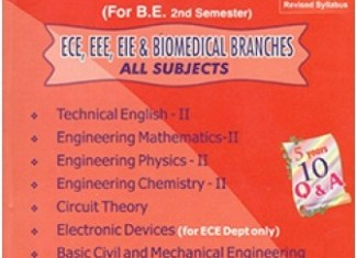 [PDF] Electrical and Electronics Engineering (EEE) 2nd Semester Question Bank Collection for Regulation 2017