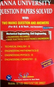 [PDF] Mechanical Engineering 2nd Semester Question Bank Collection for Regulation 2017