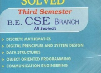 [PDF] Computer Science and Engineering 3rd Semester Question Bank Collection for Regulation 2017