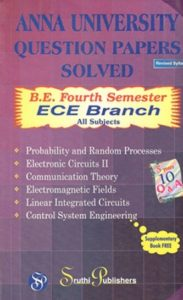 [PDF] Electronics and Communication Engineering (ECE) 4th Semester Question Bank Collection for Regulation 2017